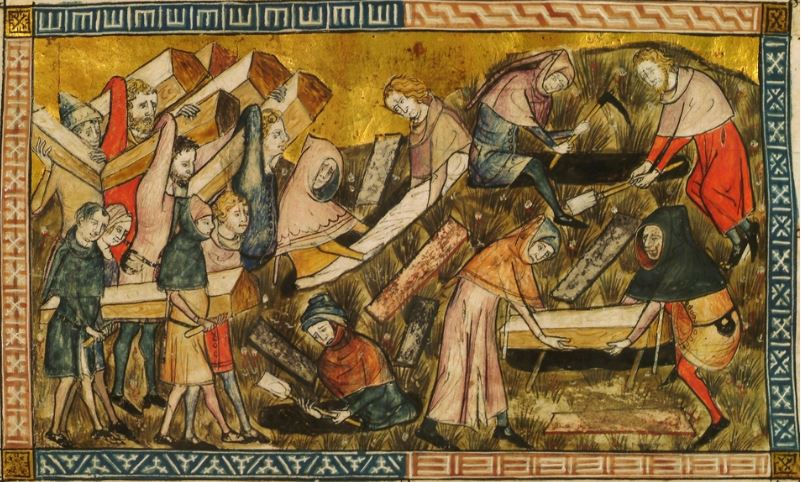 Painting by Peirart dou Tielt (ca. AD 1353).