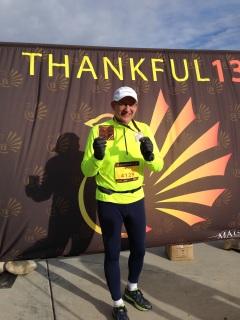 Mike Fitzgerald, Thankful 13 5K, Nov. 26, 215