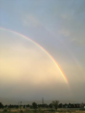 Photo of a rainbow