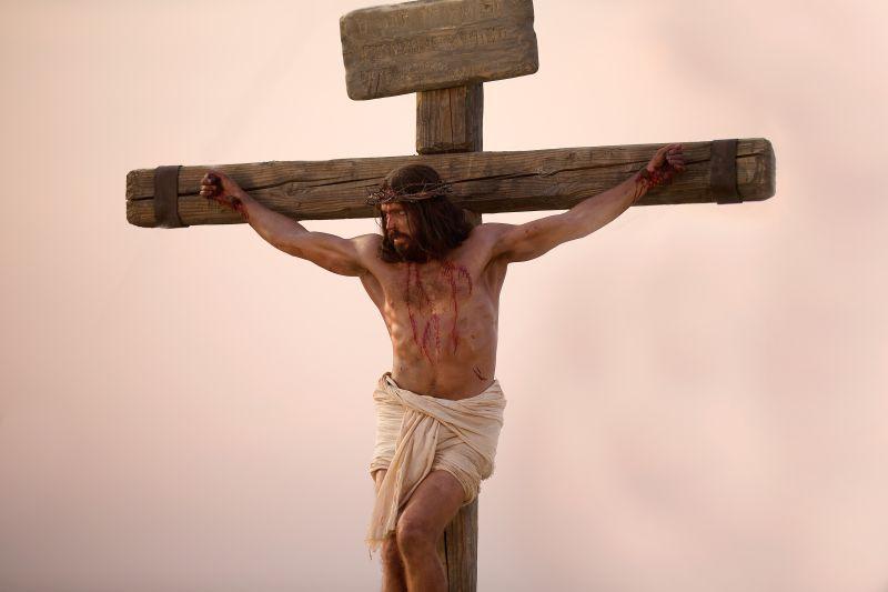 Jesus on the cross. Copyright IRI, Inc. Courtesy Gospel Media, https://www.churchofjesuschrist.org/media