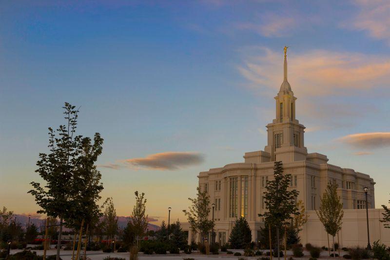 Payson Utah Temple. Copyright IRI, Inc. Courtesy Gospel Media, https://www.churchofjesuschrist.org/media